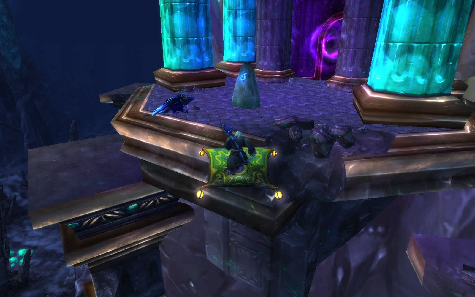The stonecore entrance in deepholm wow instance