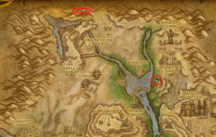 Uldum daily quests - WoW Cataclysm