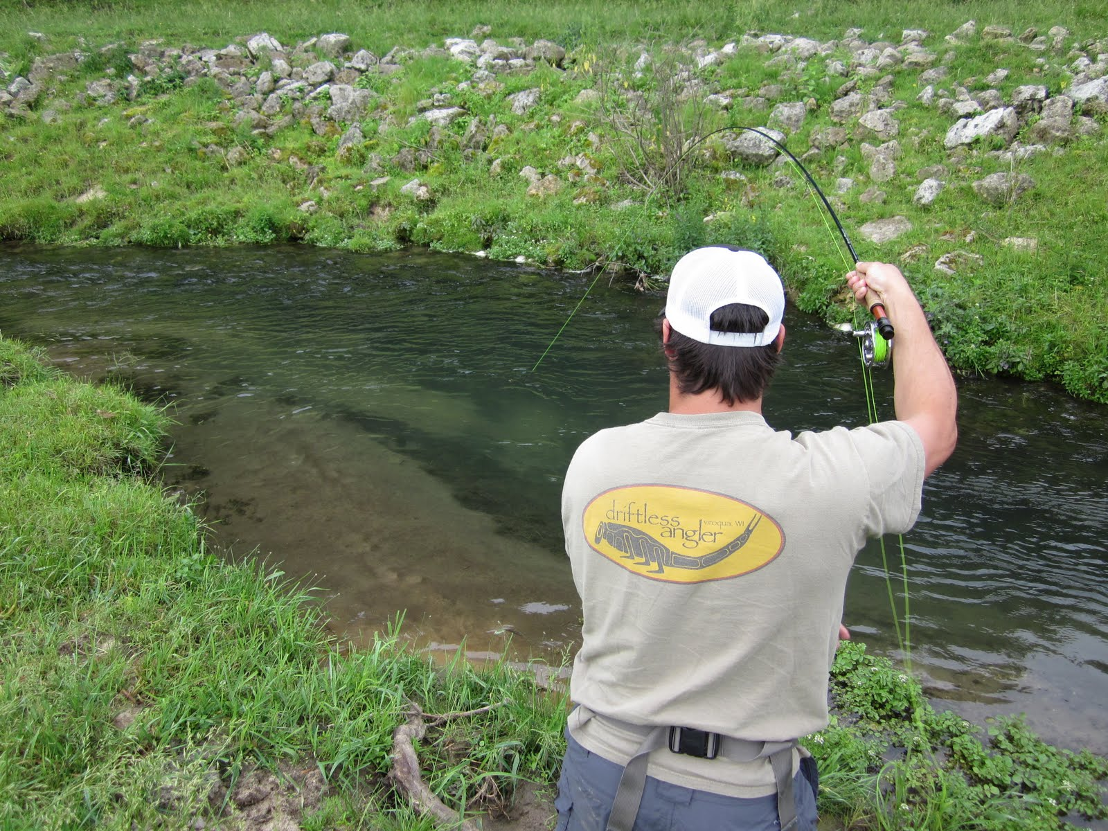 Fly fishing the driftless area of sw wisconsin a special for Driftless fly fishing