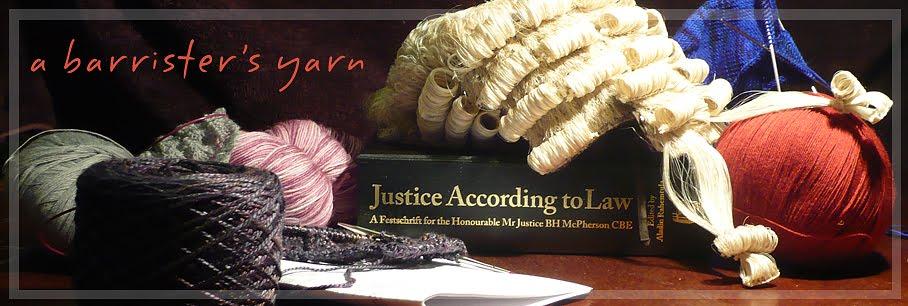 A Barrister's Yarn