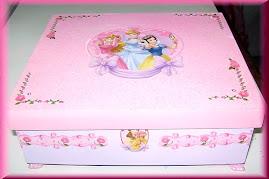 Porta jóias das princesas