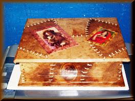 Caixa de fotos 25cmX 15cm