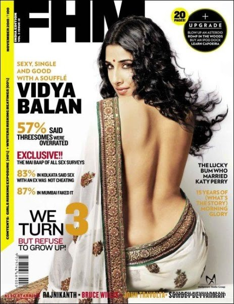 PSD about Vidya Balan's Fitness