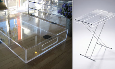 Toast and tables to have and to fold butler 39 s trays for Perspex canape trays