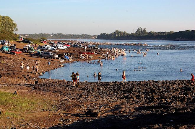Río Uruguay del ruido y la distracción