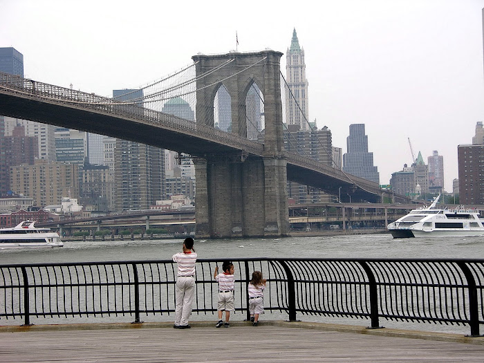 East River...