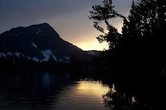 Sunset in Spanish Peaks
