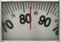 Balança: 83 kg