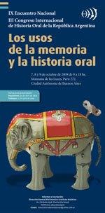 Encuentro de Historia Oral 2009