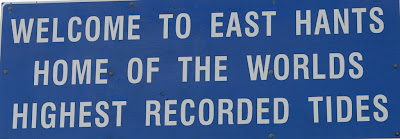 East Hants sign