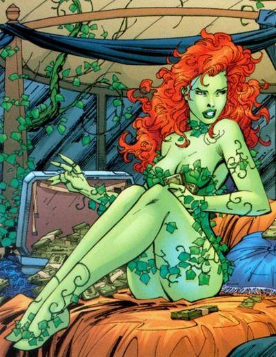 Poison Ivy 25 sexiest famous people.