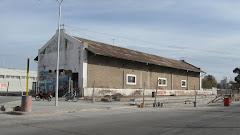 Galpón de cargas, ex estación Rosario-Puerto Belgrano