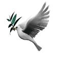 Esta pombinha viaja de blog em blog!Deixe-a pousar no seu para que traga paz  ao mundo.