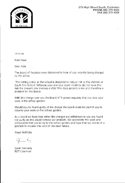 Grievance Letter About Gratuities Uk