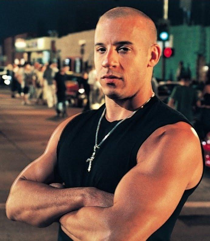 celebrity muscle: Vin ...