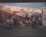 Actividad comunitaria en barrio Alfonsina Storni