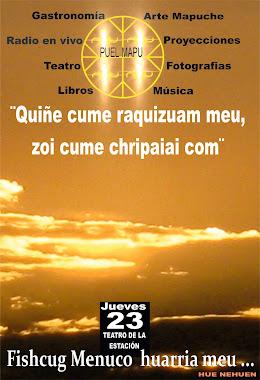 Festival artistico, social y politico Mapuche