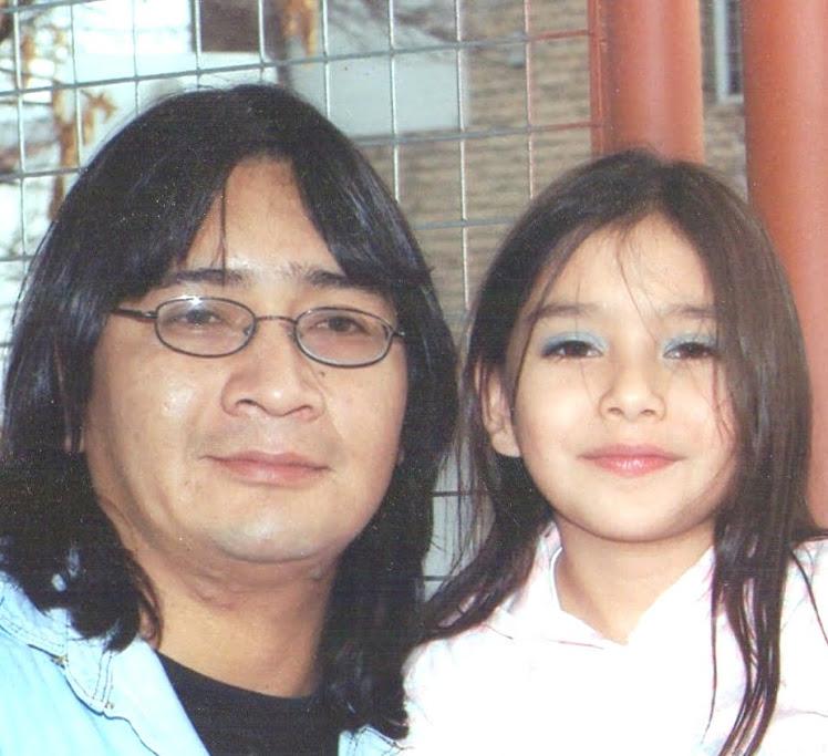 Juan Carlos Carrilaf y su hija Morena
