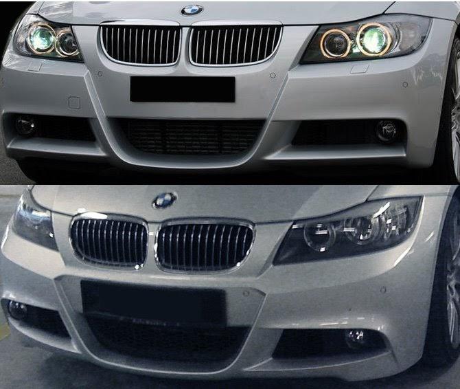 My Bmw Lci 325i Lci Vs Pre Facelift Front Amp Back Images