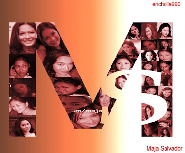 Maja Salvador Initials Poster