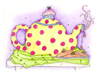 Teapot from the Cupcake Tree illustrated by Suzanne Nikolaisen