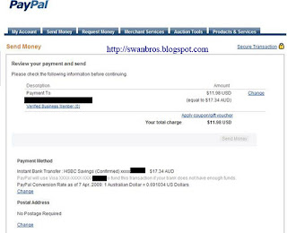 Paypal - Send Money