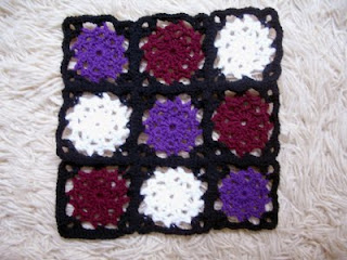 Octagon Motif – Crochet « Yarn Tails Patterns
