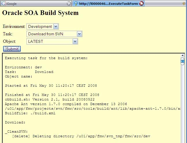 soa oracle sca bpel bpm service oracle soa build