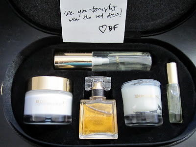 kate walsh boyfriend fragrance kit train case