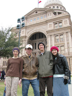 Ana, Alex, Paul, and Christina