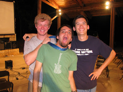 Caleb, Jeremy, and Paul