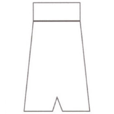 Template for Shorts - Sides