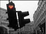 Cada semáforo en rojo..