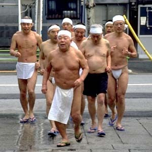 young girls naked and old men in japan
