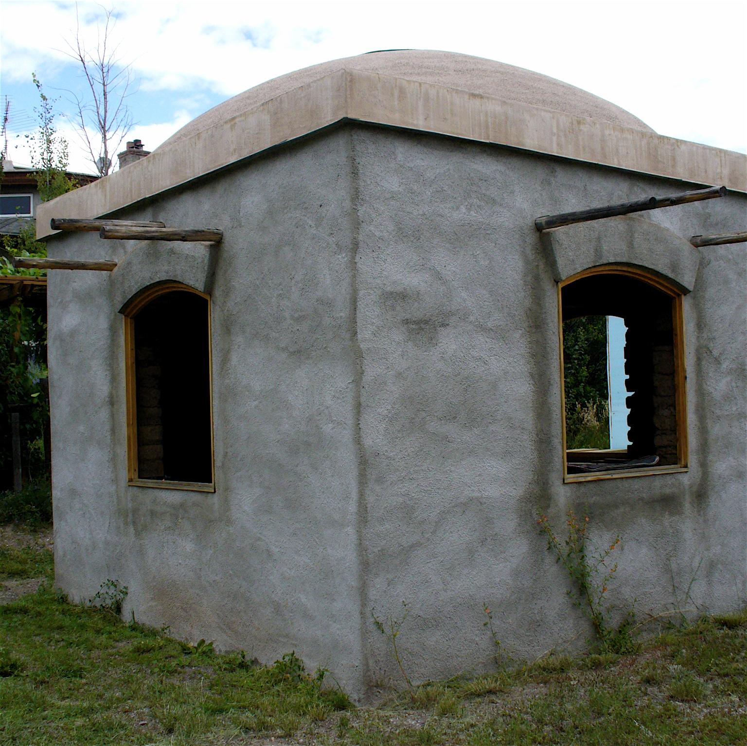 Alt Build Blog An Adobe Dome Building