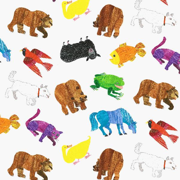 Eric Carle Brown Bear Printables on Eric Carle Author Study