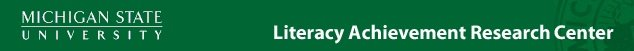 Literacy Achievement Research Center