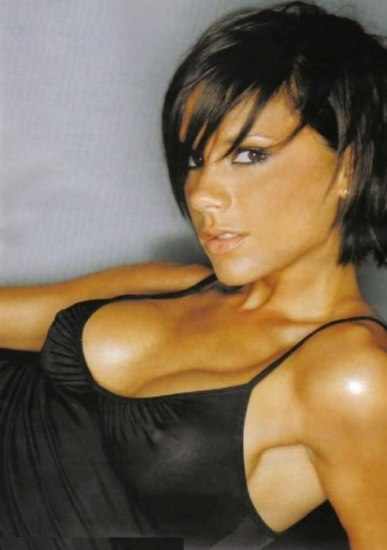 Victoria Beckham - Breast Before Surgery