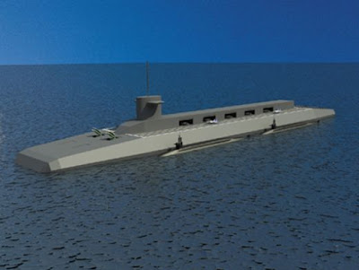 Indian Aircraft Carrier on Nuclear Submarine Aircraft Carrier  Design   China Military Report