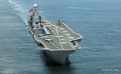 China acelera projeto para ter porta-aviões em 2011