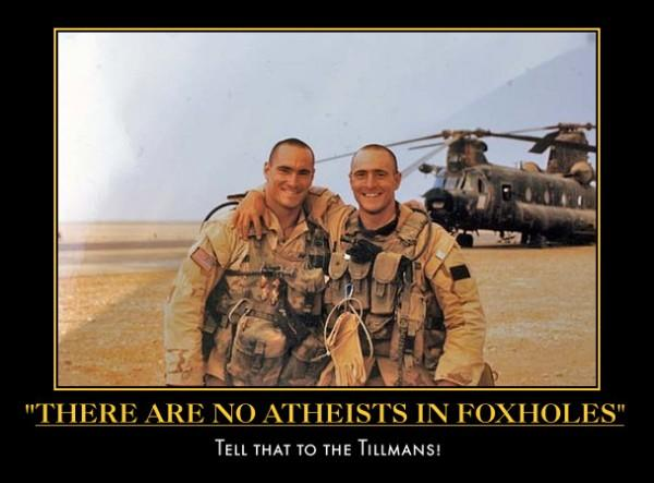 no atheists in foxholes essay