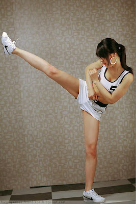 Hwang Mi Hee Korean Cute Fighter