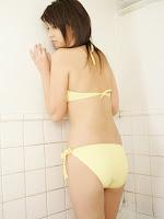 Yuka Kosaka Yello Bikini