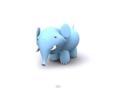 Cool Art Wallpaper 3D Cute Animals