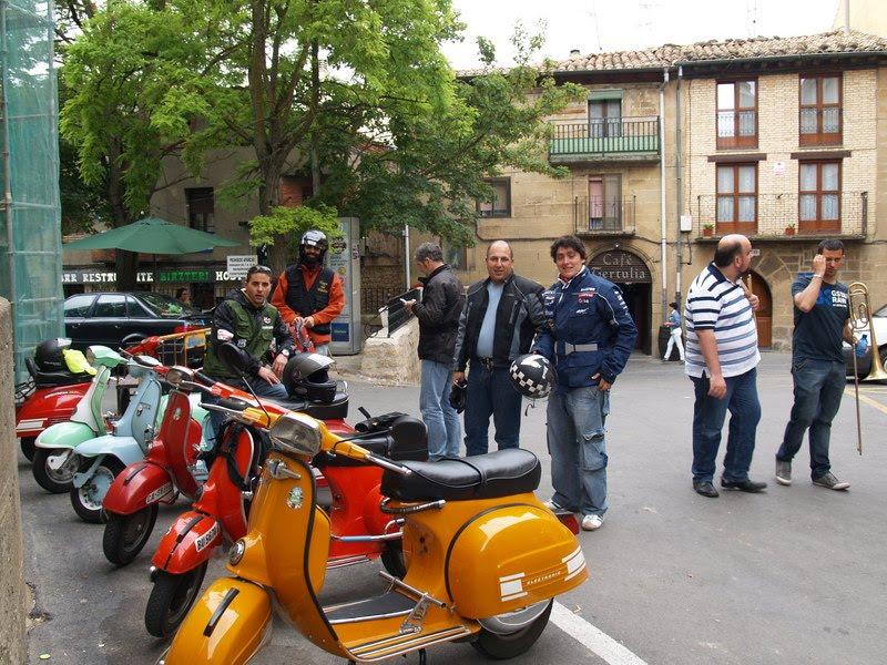 Vespa club vitoria vintage resumen 7 salida 17 julio for Oficina turismo laguardia