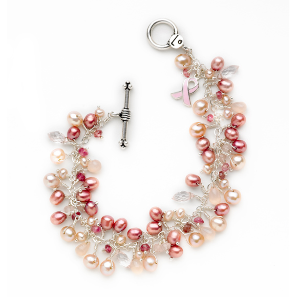 Laura Gibson Jewelry: My Signature Breast Cancer Awareness