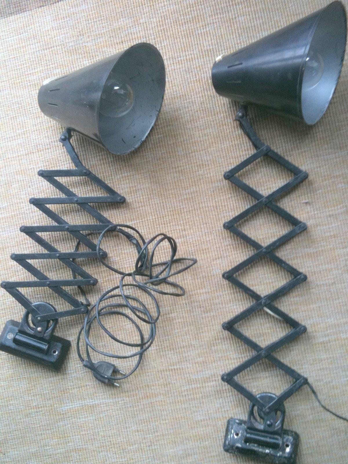 Vintage almacenaje lamparas extensibles antiguas - Lamparas anos 20 ...