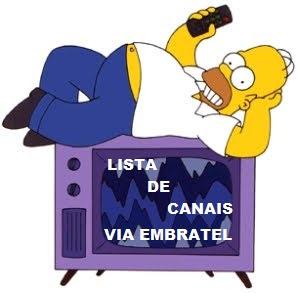 LISTA DE CANAIS NEWGEN VIA EMBRATEL 06/12/2010
