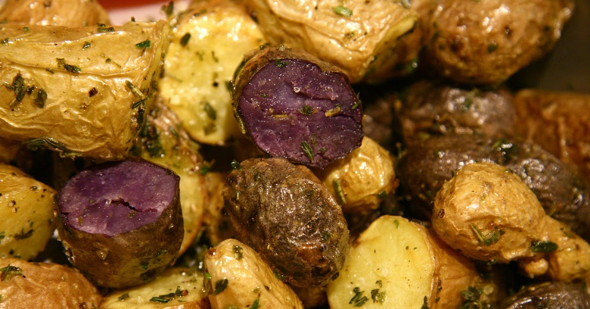 The Dogs Eat the Crumbs: Herb Salt Roasted Potatoes