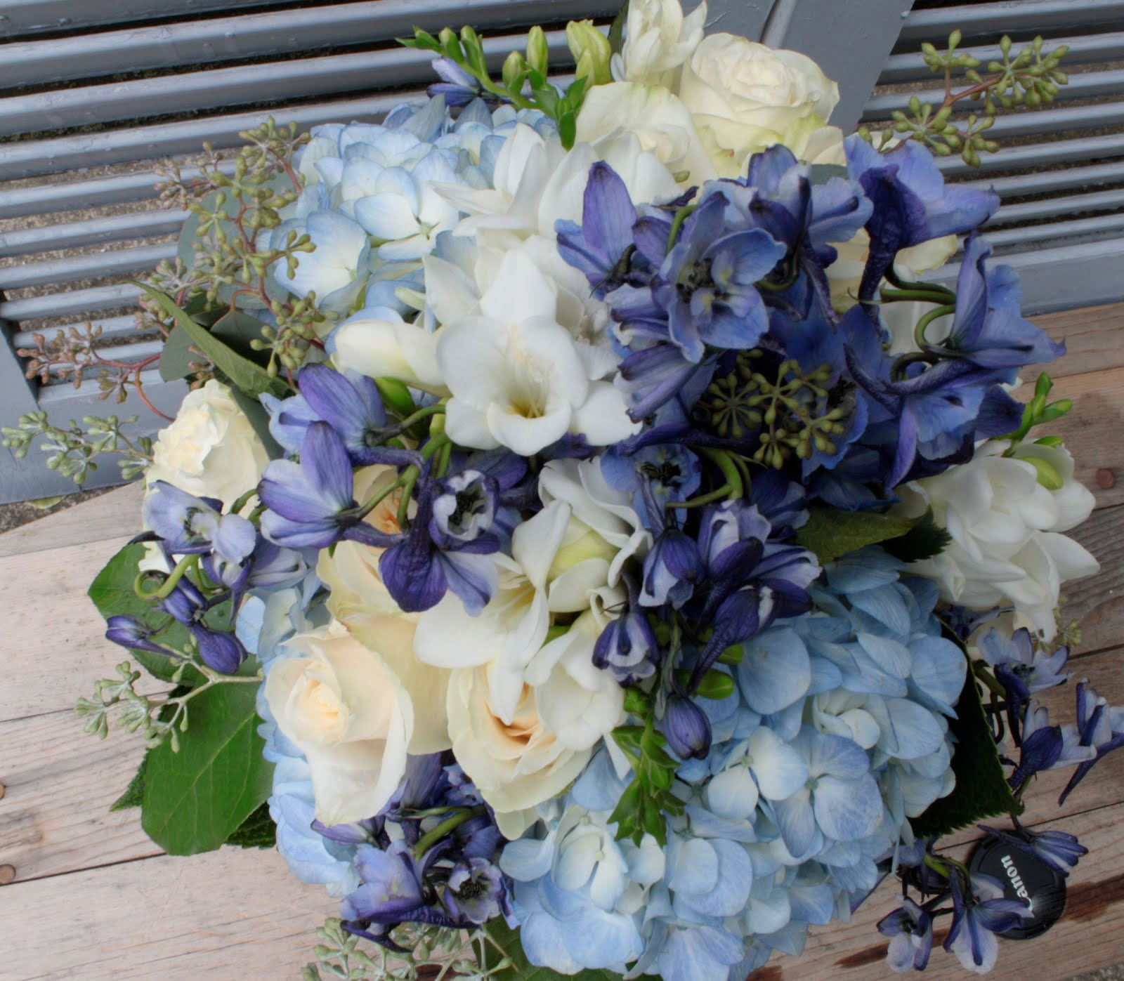 This Is Our Most Recent Bouquet And Wow Did I Enjoy Putting Beauty Together It Consists Of Blue Delphinium Variety Volkenfrieden